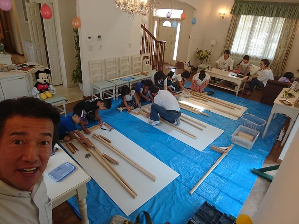 木まぐれ木工教室を開催しました!!