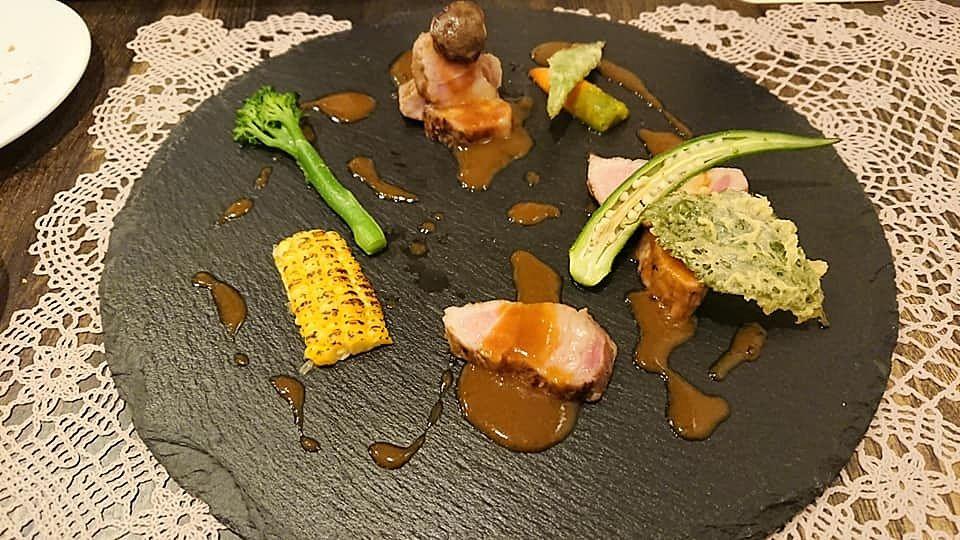 軽井沢の一軒家レストラン