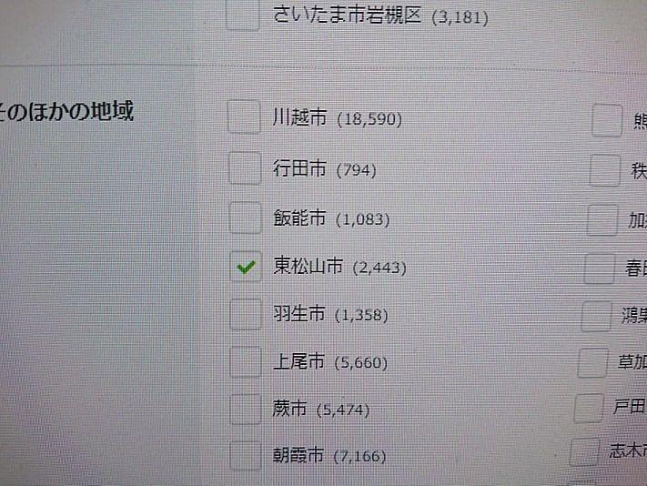 東松山市に空き部屋は何室あるのか!?