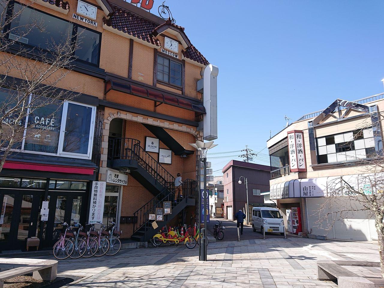 軽井沢グルメ カフェ「CR.CACTUS cafe&accessory シーアール カクタス カフェ&アクセサリー」 店内ペット可
