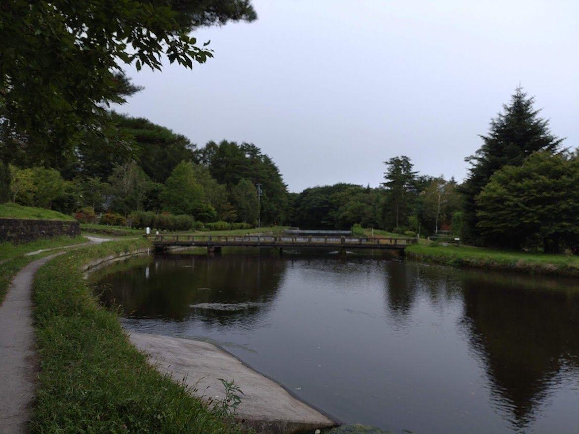 #軽井沢観光 お散歩スポット 「御影用水 みかげようすい」